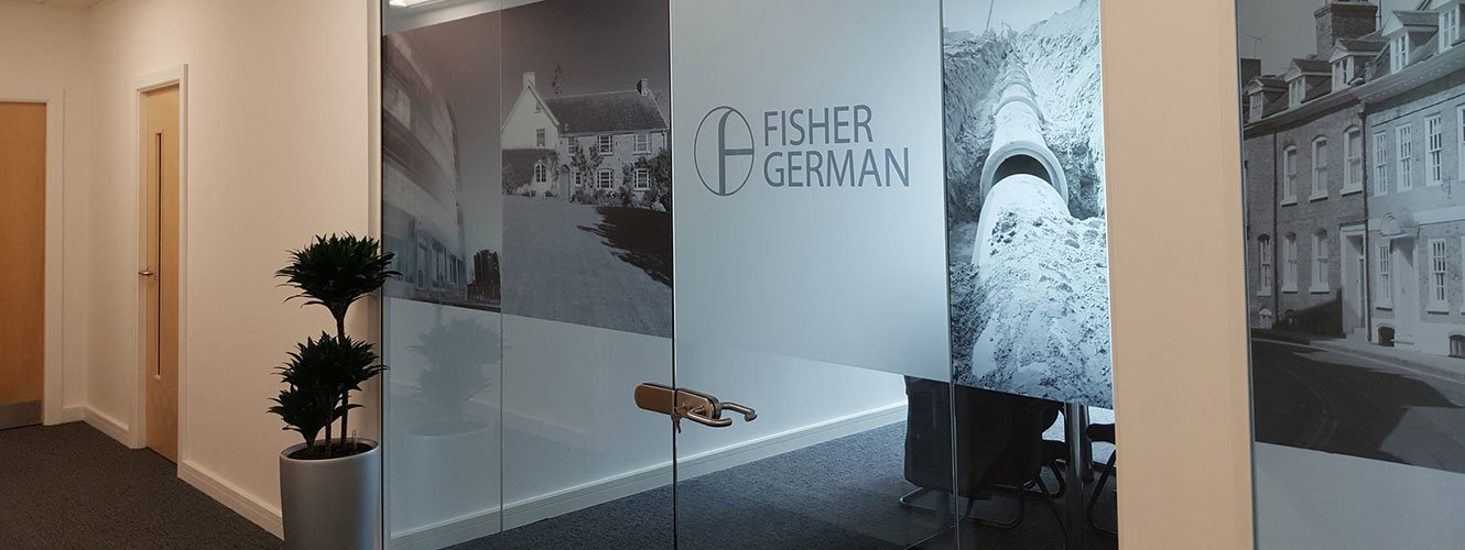 Office fisher german banner