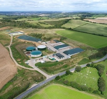 A renewable energy  facility - Isle of Wight